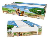 Disney California Grown Carton