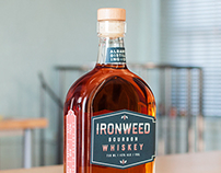 Albany Distilling Co Ironweed Whiskey Packaging