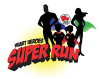 Heart Heroes Super Run logo