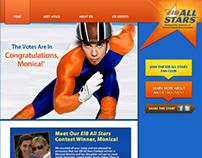 Responsive Contest Site