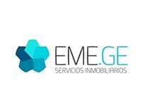 EME.GE Inmobiliaria | Logo, BIZ Cards