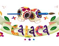 CALACA website header'n'cursors
