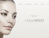 Rediseño Sitio Web Carlos Vélez cirujano plástico