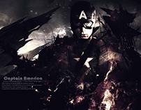 Captain America the Battle End - wallpaper
