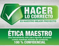 HACER LO CORRECTO - MAESTRO