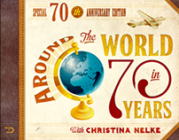 Around the world i 70 years.