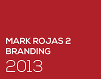 Mark Rojas Graphic Design Branding