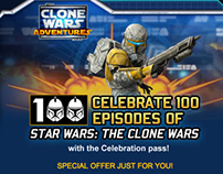 Celebrate 100 Episodes of Star Wars®: The Clone Wars™