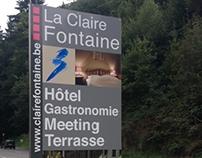 La Claire Fontaine - panneau
