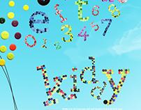 Kiddy: Handmade Typeface