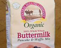 Central Milling Company family of pancake mixes.