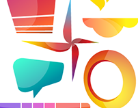 Color Logos | Illustration & Logo Design