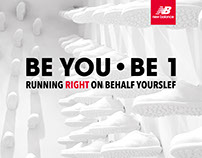 BE YOU • BE 1 Presented by New Balance