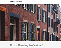 Daniel Hewes Website - Urabn Planning & Photography BOS