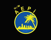 AEPi Fraternity of UM: Logo Design
