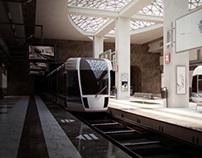 Conceptual Metro Station