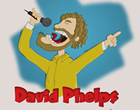 Caricature of David Phelps