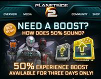 Planetside 2: Heroic Boost