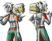 Diseño de personaje- Rak
