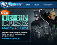 Email Campaign: DC Universe Online