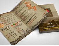 Pizza Menu Design for Marco's Pizza