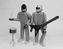 Daft Punk en Bois
