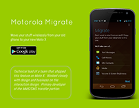 Motorola Migrate