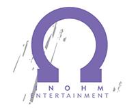 In Ohm Entertainment logo design