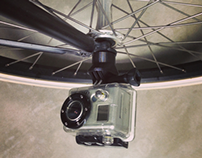 GRIPPBHM bicycle hub mount for GoPro