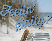 Package design for Sea Salt Company