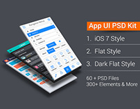 App UI PSD Kit