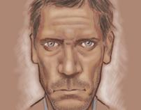 Digital caricatures practicing