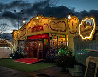 Website for Christmas at the Spiegeltent
