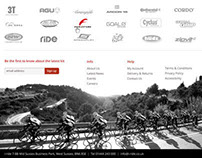 Cycling e-commerce Website