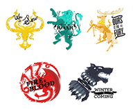 Hipster Game of Thrones Sigils