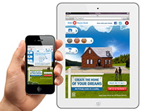 BMO Harris Bank Dream Home Mobile/Tablet Ad