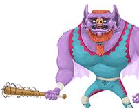 Wrestler Character Designs