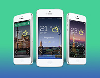 Weather App - iOS 7 app