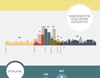 REFUGEES IN SLOVAKIA Infographic
