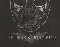 'The Dark Knight Trilogy' Minimalist Poster Designs