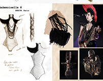 Stage costumes design