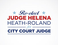 Judge Helena Heath-Roland Logo Concept