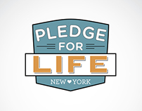 Pledge for Life Logo Ideation
