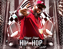 Hip Hop Mixtape CD Cover Template