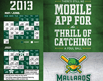 Madison Mallards Opening Night Poster