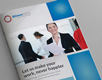Clean Simple Business Catalogue - Brochure
