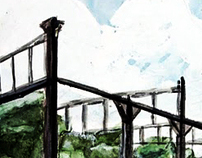 The Peter Pan Project Concept Art for Locations