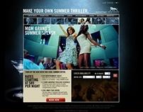 MGM Grand Las Vegas Microsite