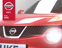 3D Nissan Juke model