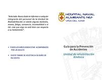 Tríptico Hospital Naval